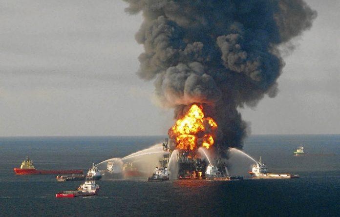 The Deepwater Horizon disaster.