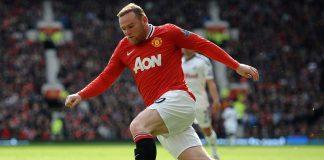 Manchester United's Wayne Rooney.