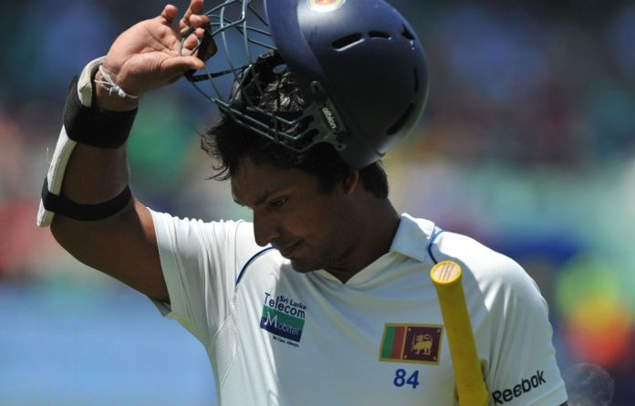 Kumar Sangakkara of Sri Lanka joined an elite group of cricketers on Saturday when he became only the fifth to make 12 000 runs in his career.