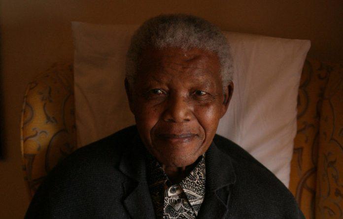 September 2011 image of former president Nelson Mandela.