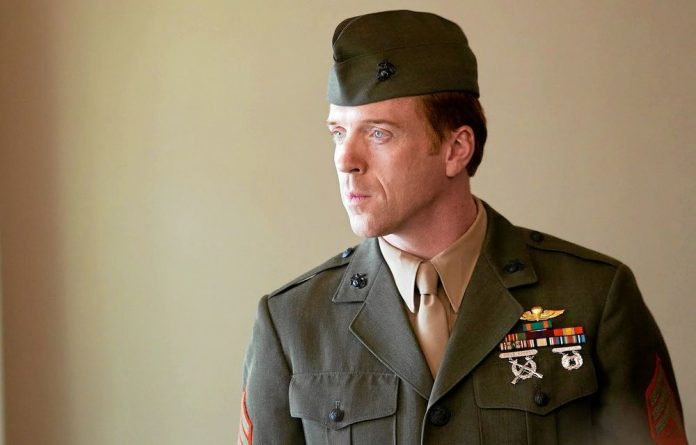Hero or mole? Damian Lewis in the acclaimed drama series Homeland