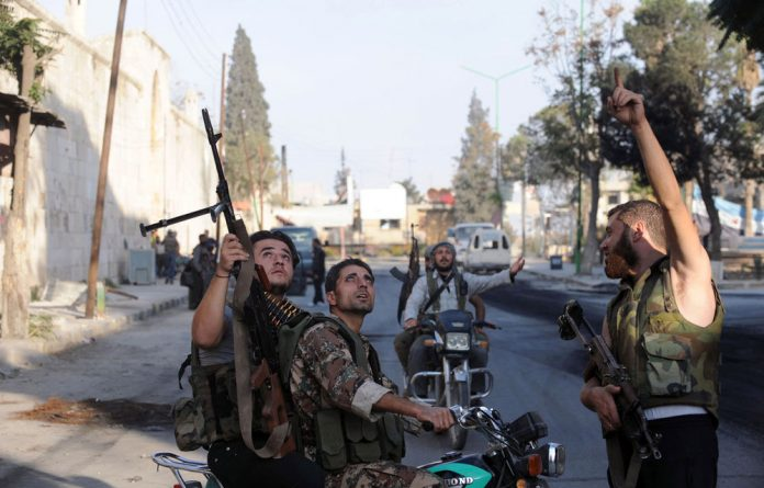 International pressure on Syria is still needed.