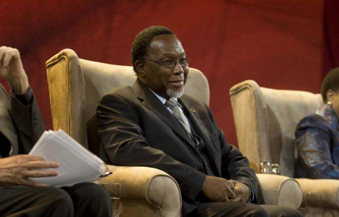 Deputy President Kgalema Motlanthe.