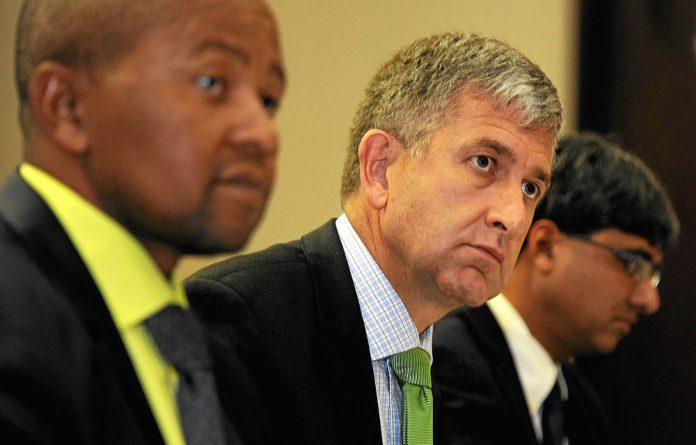 IDC chief financial officer Gert Gouws