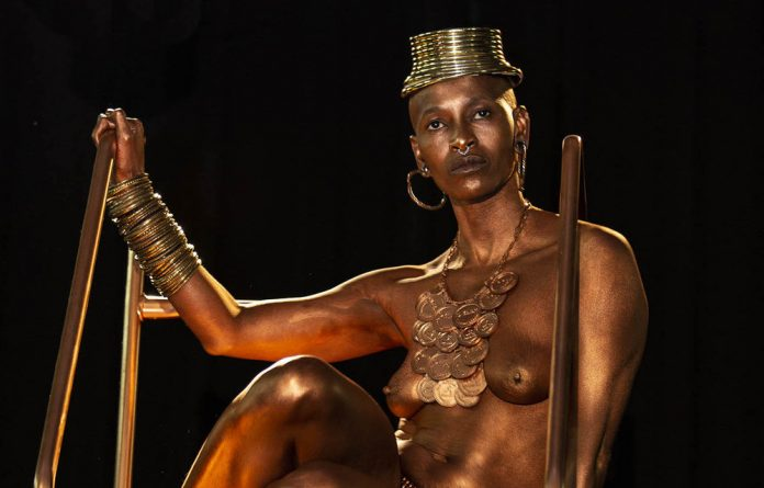 The struggle continues: Black Privilege looks set to be one of Mamela Nyamza's final outings as a dancer but her work as a performer