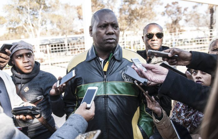 The EFF's secretary general Godrich Gardee said the party was opening the case against Mkhize for corruption and soliciting a bribe.