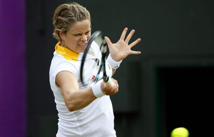 Kim Clijsters of Belgium.