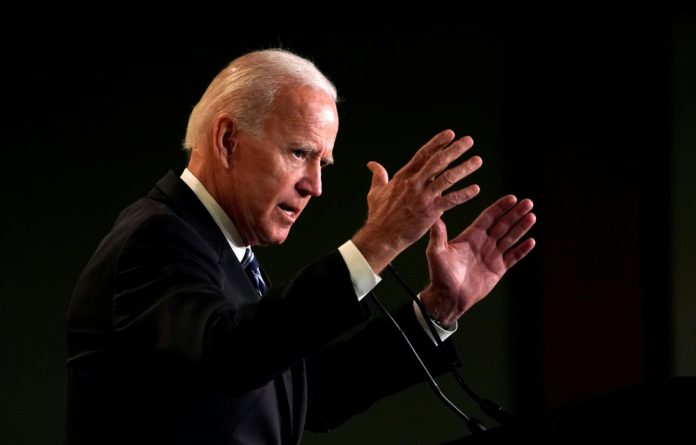 Former US vice president Joe Biden.