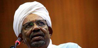 Former Sudanese president Omar al-Bashir.