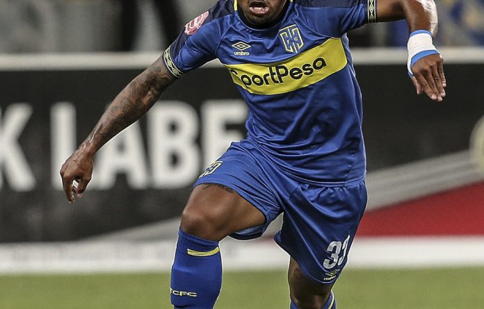 He's back: Kermit Erasmus is rebuilding his career and reputation at Cape Town City