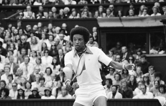 Best serve: A documentary layers old footage of US tennis star Arthur Ashe with scenes of Amukelani Mokone and the Arthur Ashe Tennis Centre in Soweto.