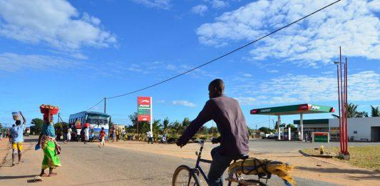Macomia district in the province of Cabo Delgado