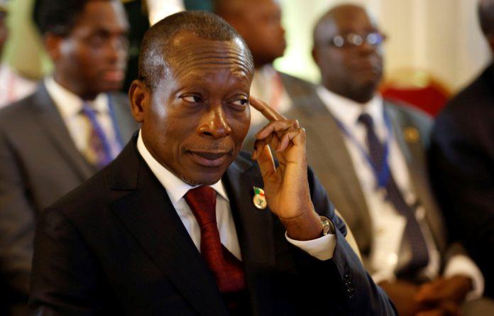 Benin's President Patrice Talon.