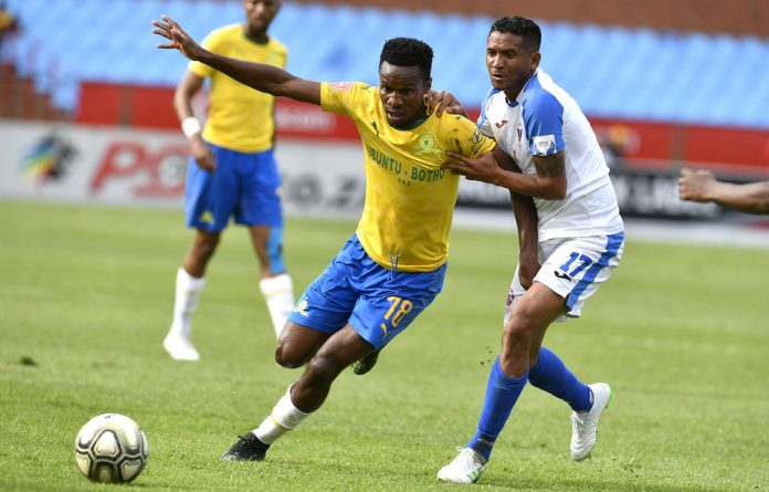 Mamelodi Sundowns defeated Chippa United and held on to their title contender chances.