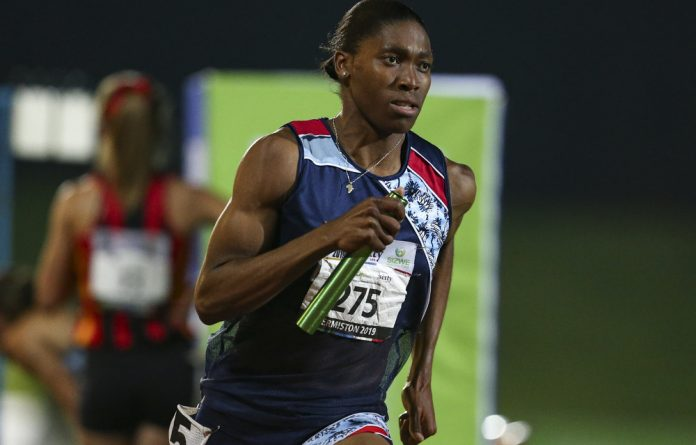 South Africa's double Olympic champion Caster Semenya.