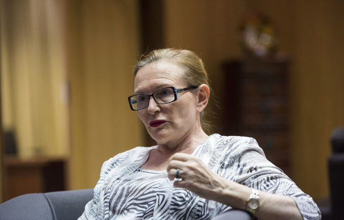 Helen Zille has been actively involved in the DA's election campaign.