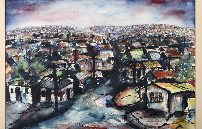 Accessible: Artworks such as Soweto at Dawn by Charles Nkosi  form part of the Black Aesthetic exhibition.