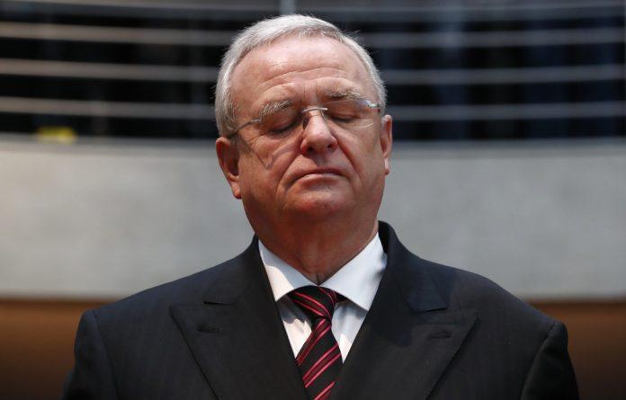 Former VW CEO Martin Winterkorn.