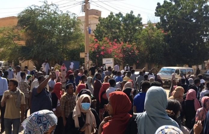 Sudanese women take the fore in the protests against Omar al-Bashir.