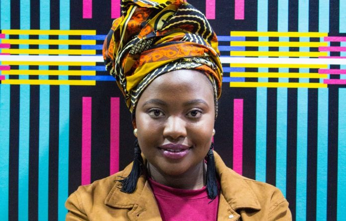 Award winning: Bonolo Chepape's win means she will receive tailored support and business guidance from the Design Foundation's board.
