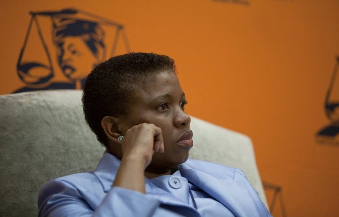 Tenuous links: Suspended deputy prosecutions head Nomgcobo Jiba has long been suspected of being behind former president Jacob Zuma's capture of the National Prosecuting Authority. Photo: Oupa Nkosi