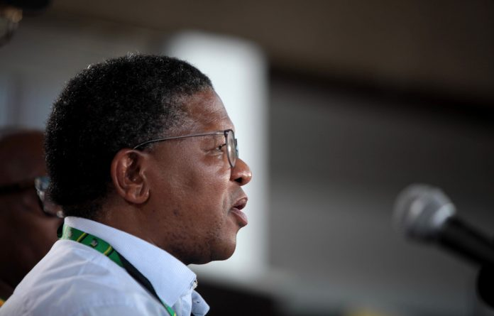 """ANC head of elections Fikile Mbalula was adamant on Monday that the ANC list — littered with candidates implicated in allegations of state capture and corruption — was """"not set in stone"""""""