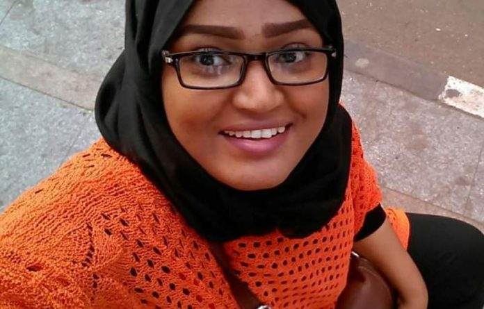 Dr Nafisa Mohamed is one of the doctors putting themselves at risk to treat protesters in Sudan.