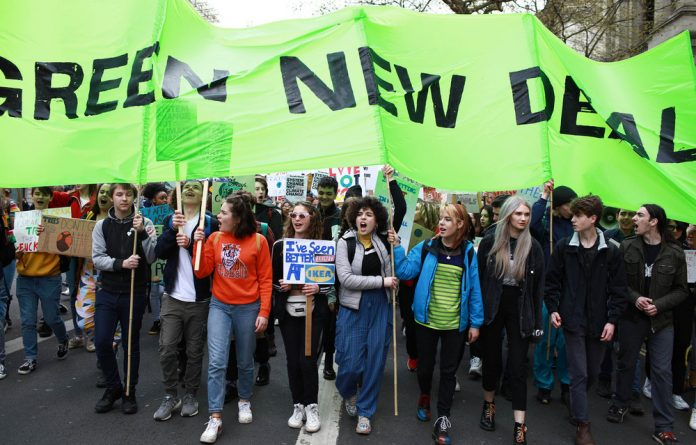 On board: For a global Green New Deal to work