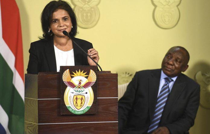 NDPP Shamila Batohi.