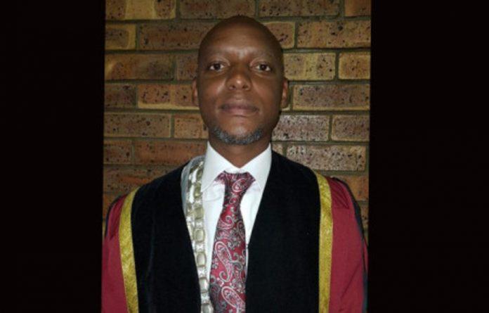 Newcastle Mayor Ntuthuko Mahlaba.