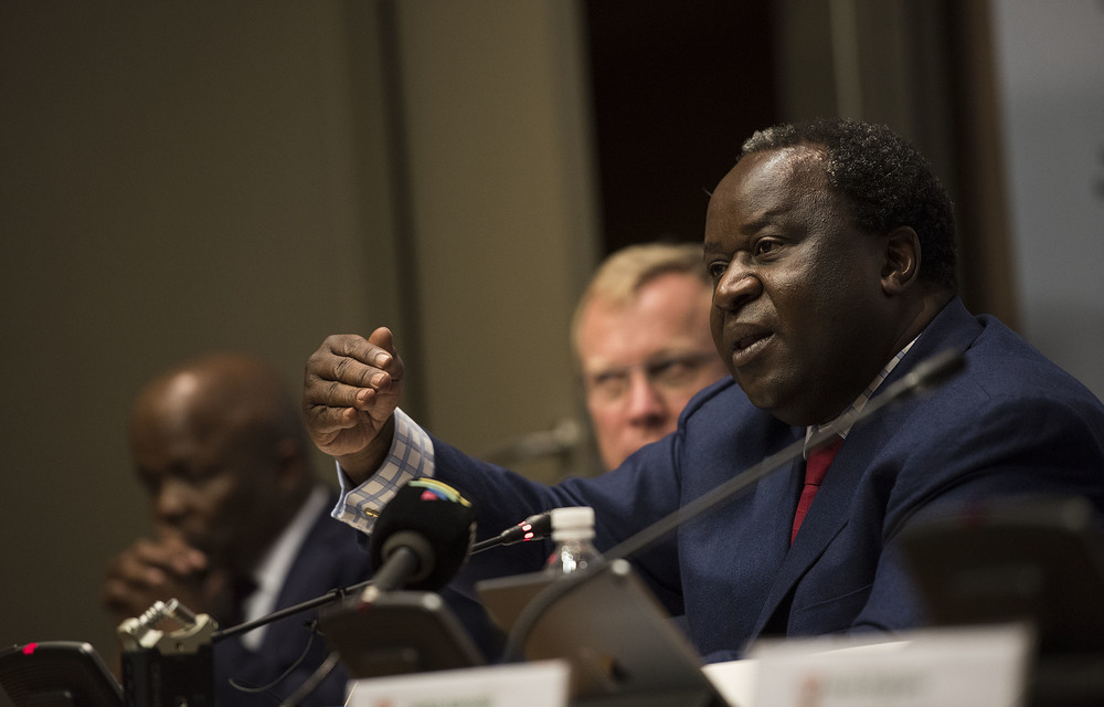 Finance Minister Tito Mboweni advanced the power utility R5-billion after a loan from China was delayed.