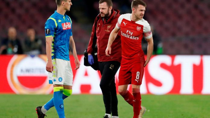 Emery confirms Ramsey has played last Arsenal game
