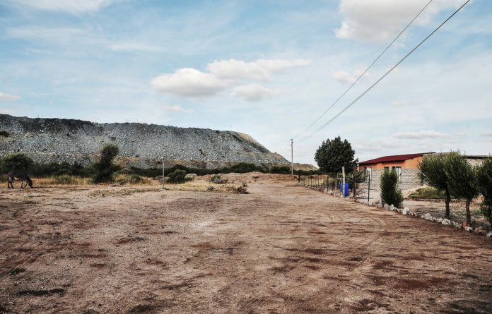 Residents of Sekhiming say the nearby platinum mine is causing air pollution