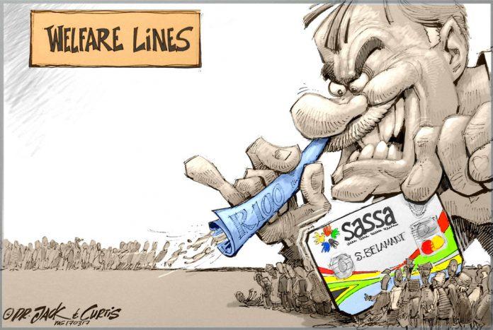Staff Cartoons: Greed is good