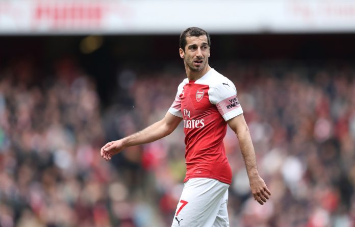 Arsenal midfielder Henrikh Mkhitaryan is set to miss their Europa League final clash against biter rivals Chelsea.