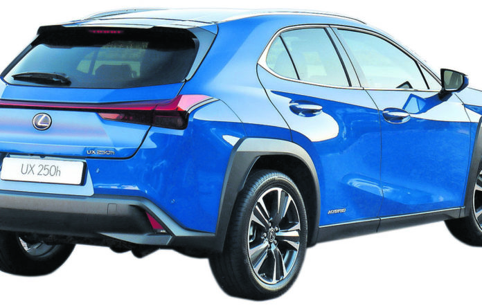 The Lexus UX 250h packs a punch
