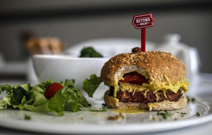 Taste of things to come: The Beyond Burger at a café in Greenside