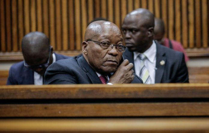 Former president Jacob Zuma's application for a permanent stay of prosecution is underway in the high court in Pietermaritzburg