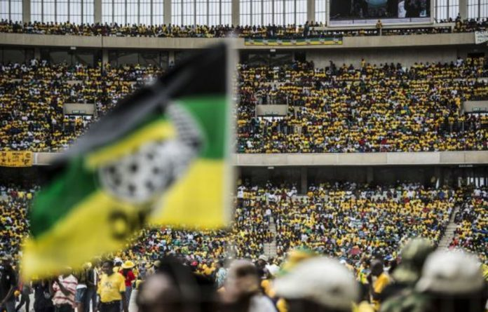 Polls put the ANC's support in the smallest