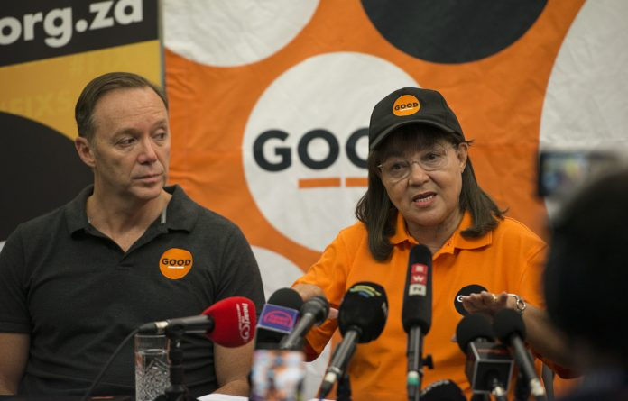 The GOOD party told the M&G it would not preempt the final results