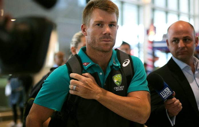 Former Australian cricket vice-captain David Warner.