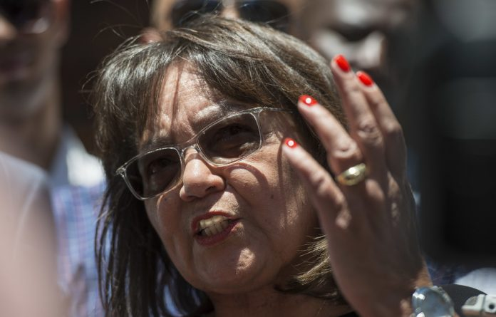 Good Leader Patricia De Lille said she stands by her comments that her party will cooperate with government when it is performing well