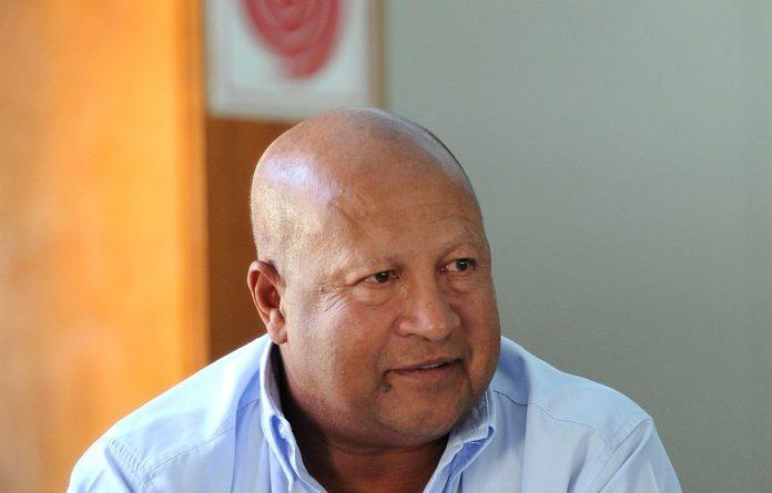 Former Fedusa general secretary Dennis George.