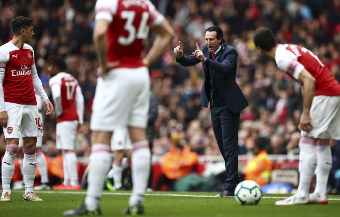 Up for the challenge: Arsenal manager Unai Emery.