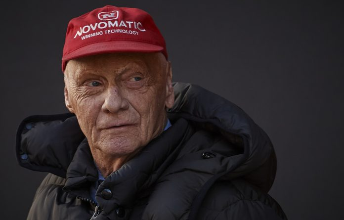 Niki Lauda won the Formula One drivers' world championship three times