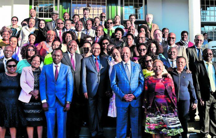 Supersize: Jacob Zuma's Cabinet swelled to 36