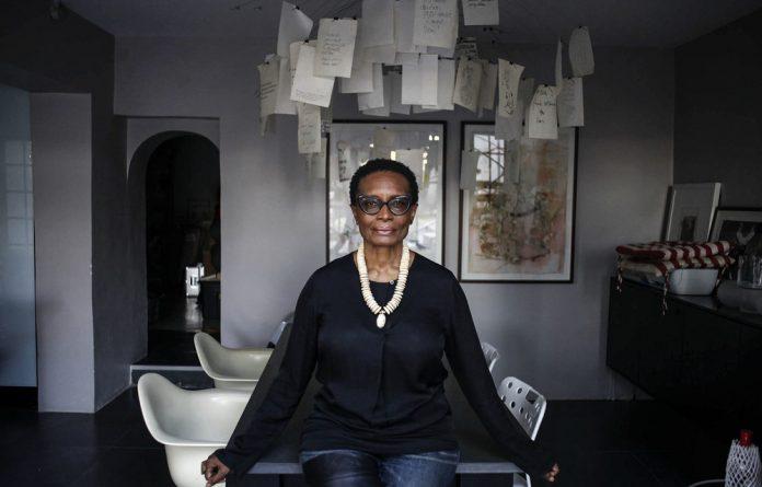 In the know: Art consultant Makgati Molebatsi encourages visual art appreciation and acquisition.