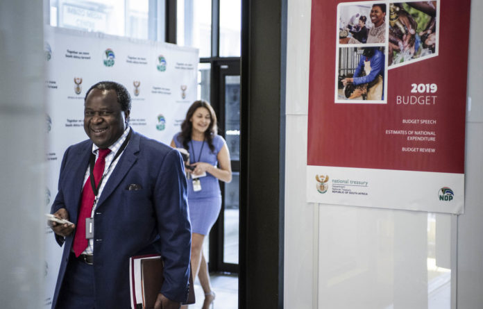 Finance Minister Tito Mboweni took to Twitter to show the world how to make his beef stew.