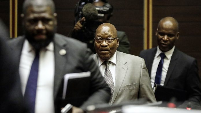Jacob Zuma says his case is different