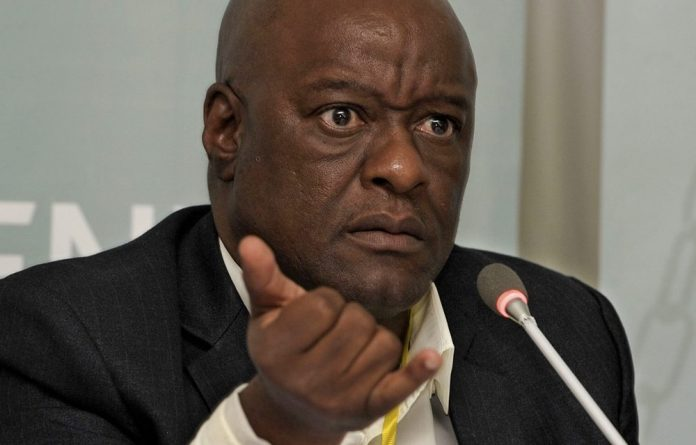 The Gauteng department of health only reported its former head of department Barney Selebano